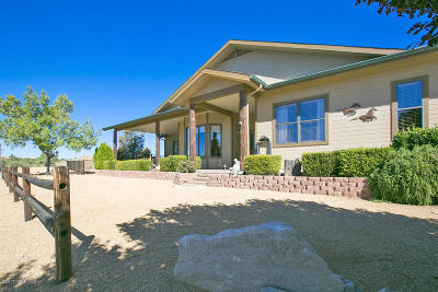 Prescott, Prescott Valley, Dewey-humboldt, Chino Valley Single Family Home For Sale: 12340 N American Way