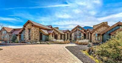 Prescott AZ Single Family Home For Sale: $1,849,000