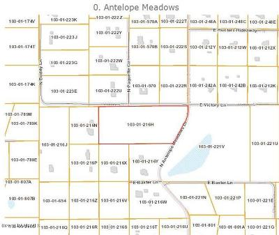 Prescott Valley Residential Lots & Land For Sale: Antelope Meadows Drive