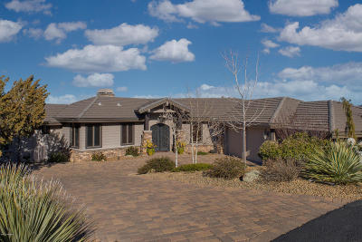 Prescott AZ Single Family Home For Sale: $1,295,000