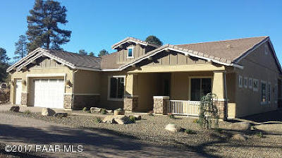 Prescott Single Family Home For Sale: 1558 Sierry Peaks Drive