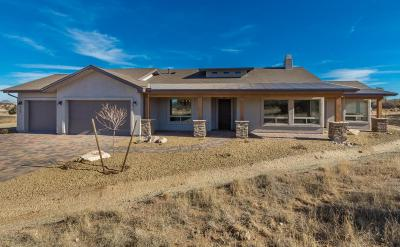 Prescott Single Family Home For Sale: 11485 N Arrow Ranch Road