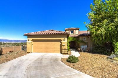 Prescott Valley Single Family Home Pending - Take Backup: 1163 N Tin Whip Trail