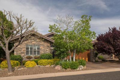 Prescott Lakes Single Family Home For Sale: 1296 Pebble Springs