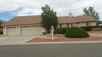 Prescott Valley Single Family Home For Sale: 7124 E Summer