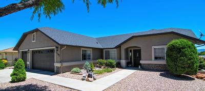 Prescott Valley Single Family Home For Sale: 7163 N Viewscape Drive #1