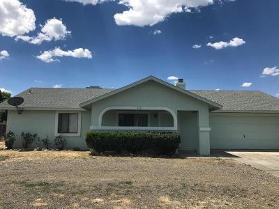 Prescott Valley Single Family Home For Sale: 6361 E Sunset Lane