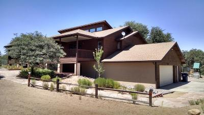 Prescott Single Family Home For Sale: 2600 W Bard Ranch Road
