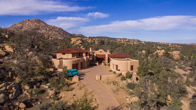 Prescott AZ Single Family Home For Sale: $1,749,900