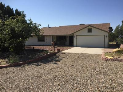 Chino Valley Single Family Home For Sale: 3695 N Mesa Shadows Road