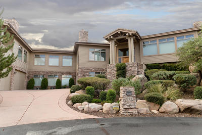 Prescott AZ Single Family Home For Sale: $1,695,000