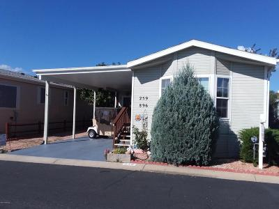 Prescott Valley Mobile/Manufactured For Sale: 896 N Mountain Brush Drive