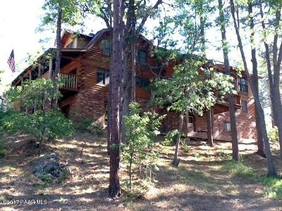 Yavapai County Single Family Home For Sale: 4875 S Minnie Mine Road