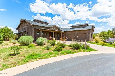 Chino Valley, Prescott, Prescott Valley Single Family Home For Sale: 14965 N Jay Morrish