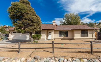 Prescott Single Family Home For Sale: 4705 S Aldrich Drive