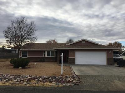Prescott Valley Single Family Home For Sale: 4820 N Agua Fria Drive
