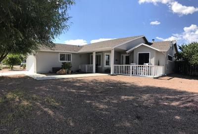 Chino Valley Single Family Home For Sale: 2540 Bobwhite Lane