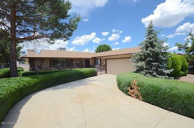 Prescott, Dewey-humboldt, Prescott Valley, Chino Valley Single Family Home Pending - Take Backup: 1040 N Stirrup High Drive