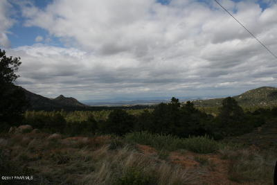 Prescott Residential Lots & Land For Sale: W Six Claims Road