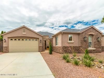 Prescott, Dewey-humboldt, Prescott Valley, Chino Valley Single Family Home For Sale: 7494 E Traders Trail
