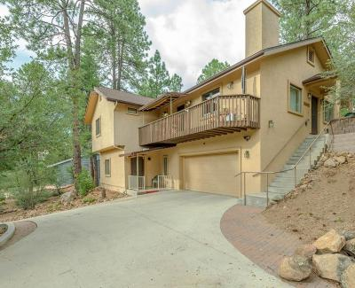 Prescott Single Family Home For Sale: 1330 Pinecone Terrace