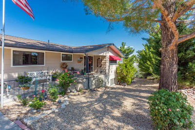 Dewey-humboldt Single Family Home For Sale: 11130 E Pima Road