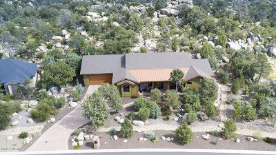 Prescott Single Family Home For Sale: 1387 Ridgewood Drive