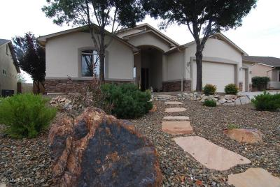 Prescott Valley Single Family Home For Sale: 3939 Fairfax Road