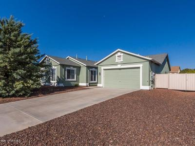 Prescott Valley Single Family Home For Sale: 7662 E Clear Sky Trail