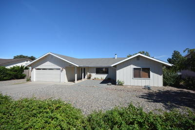 Prescott Valley Single Family Home For Sale: 4715 N Stage Way Lane