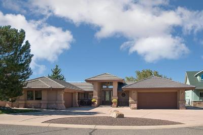 Prescott AZ Single Family Home For Sale: $699,000