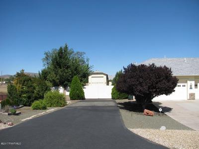 Chino Valley Single Family Home For Sale: 1132 Tiffany Place
