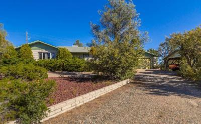 Prescott Single Family Home For Sale: 1897 Yampa Drive
