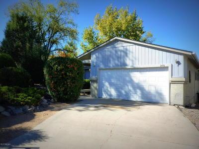 Prescott Single Family Home For Sale: 1496 E Rosser Street