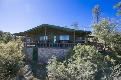 Prescott Single Family Home For Sale: 1873 W Rocky Road