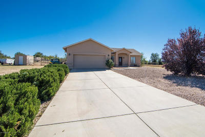 Chino Valley, Prescott, Prescott Valley Single Family Home For Sale: 1727 Bernice Drive