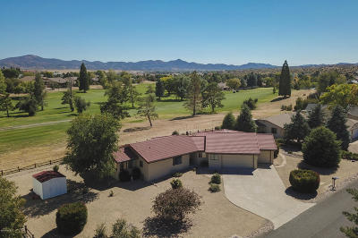 Prescott, Dewey-humboldt, Prescott Valley, Chino Valley Single Family Home For Sale: 1017 N Stirrup High Drive