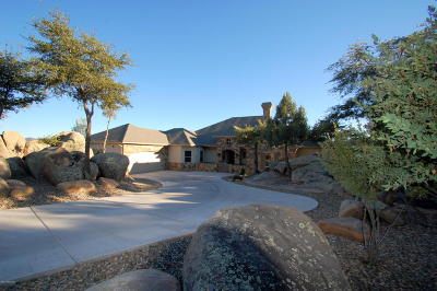 Prescott AZ Single Family Home For Sale: $998,000