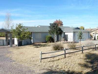 Prescott Valley Single Family Home For Sale: 4240 N Verde Vista Drive