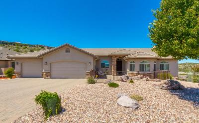 Prescott AZ Single Family Home For Sale: $629,000