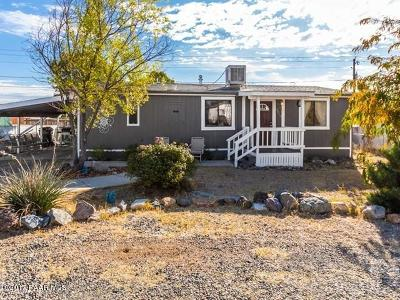 Yavapai County Mobile/Manufactured For Sale: 4443 N Ranger Road