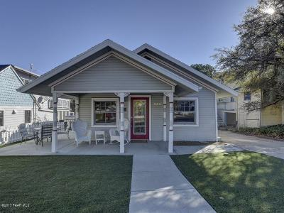 Prescott Single Family Home For Sale: 333 S Mount Vernon Avenue