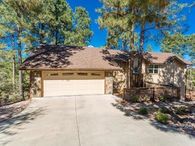 Prescott Single Family Home For Sale: 1192 Fox Trail