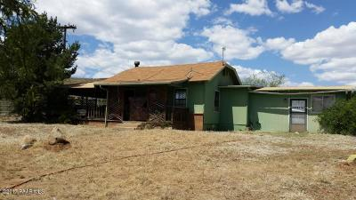 Dewey-humboldt Single Family Home For Sale: 17315 E Vergona Road