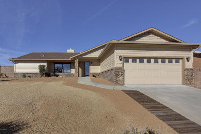 Prescott Single Family Home For Sale: 3156 Montana Drive