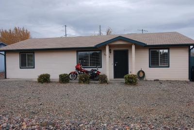 Prescott Valley Single Family Home For Sale: 3160 N Greg Drive