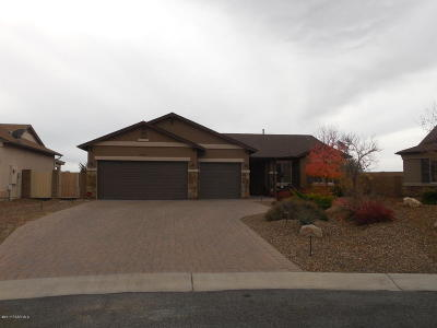 Prescott Valley Single Family Home For Sale: 7503 E Roaring Canyon Road