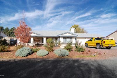 Prescott Valley Single Family Home For Sale: 7684 E Buena Vista Drive