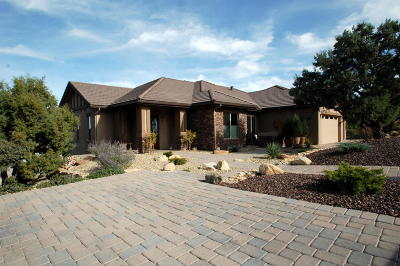 Yavapai County Single Family Home For Sale: 608 Grand Valley Pointe