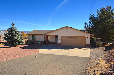 Prescott Valley Single Family Home Pending - Take Backup: 4293 Bonita Way